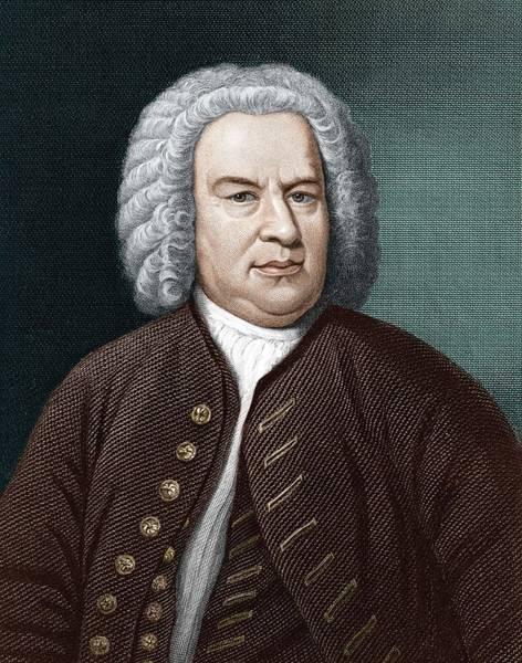 Choral Wall Art - Photograph - Johann Sebastian Bach (1685-1750) by Science Photo Library