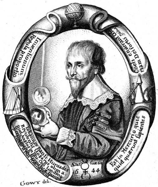 Wall Art - Drawing - Johannes Banfr by Mary Evans Picture Library