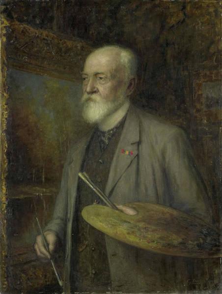 Johannes Gijsbert Vogel 1828-1915 Art Print by Litz Collection