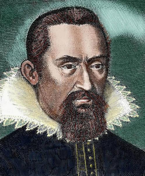 Goatee Photograph - Johannes Kepler (1571-1630 by Prisma Archivo