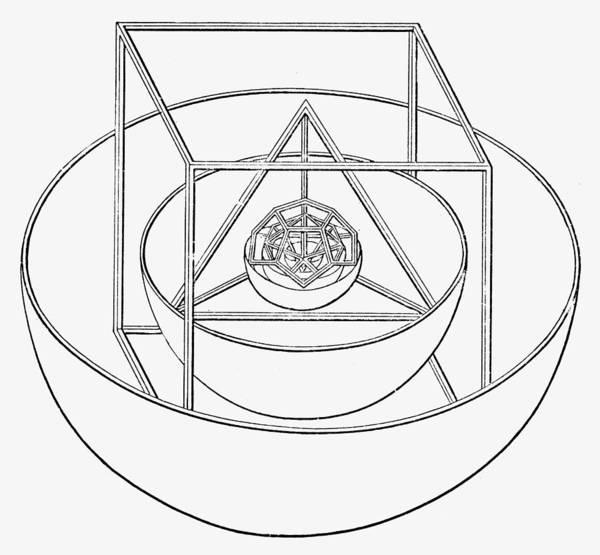 Photograph - Johannes Kepler: Planets by Granger