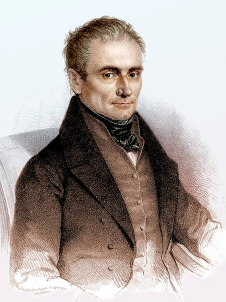Czechoslovakian Photograph - Johannes Purkinje, Czech Physiologist by Science Source