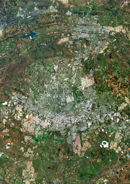 Johannesburg Wall Art - Photograph - Johannesburg by Planetobserver/science Photo Library