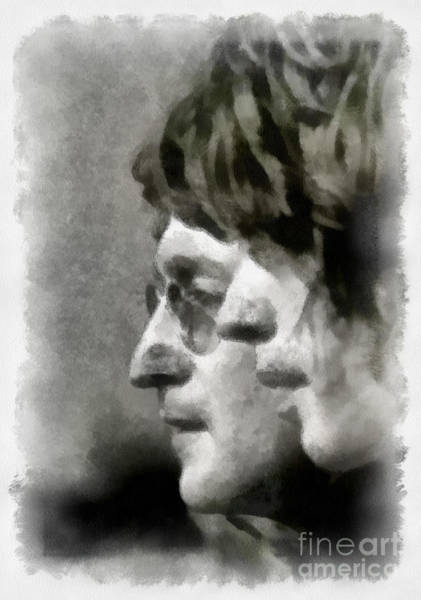 Digital Art - John And Mick by Paulette B Wright