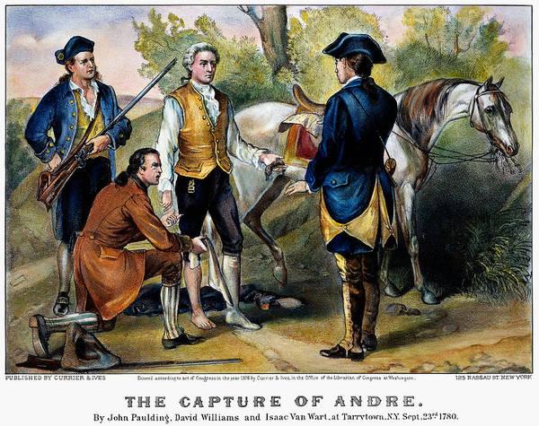 Photograph - John Andre (1750-1780) by Granger