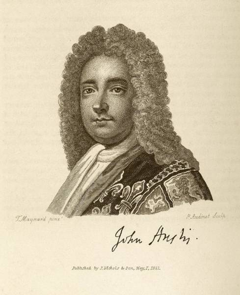 1600s Wall Art - Photograph - John Anstis by Middle Temple Library