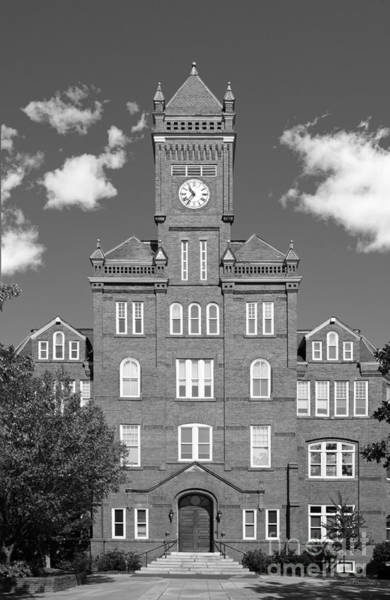 Photograph - John C. Smith University Biddle Hall by University Icons