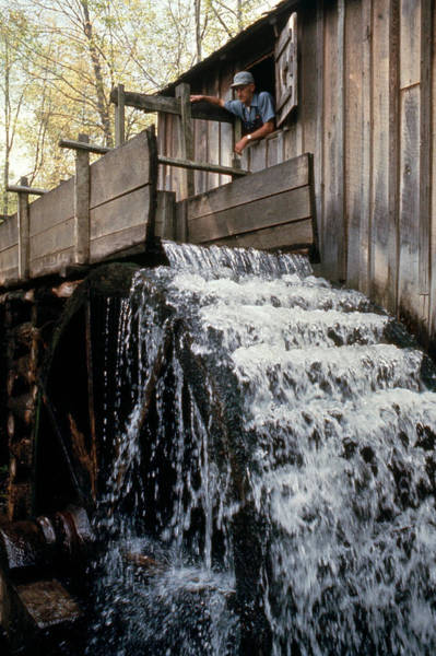Millrace Wall Art - Photograph - John Cable Mill, Cades Cove, Tennessee by Bruce Roberts