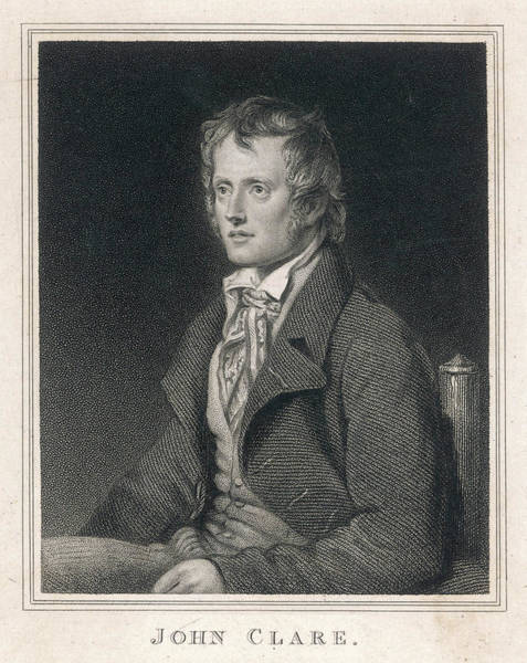 Wall Art - Drawing - John Clare  English Poet        Date by Mary Evans Picture Library