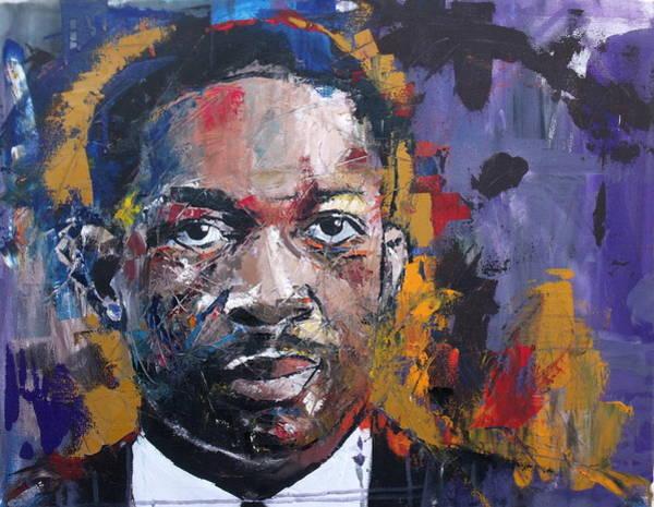 Live Music Painting - John Coltrane by Richard Day