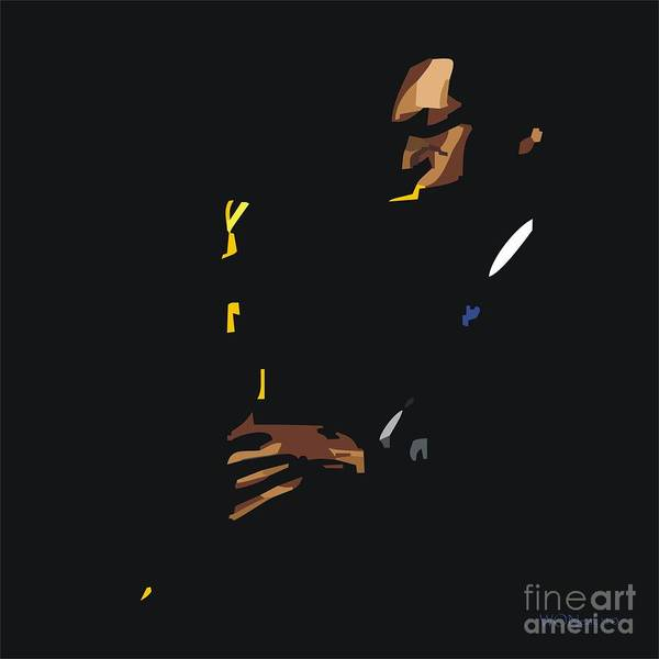 Digital Art - John Coltrane by Walter Neal