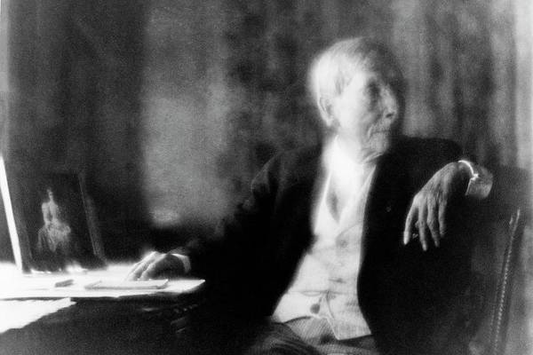 Celebrities Photograph - John D Rockefeller by Arnold Genthe