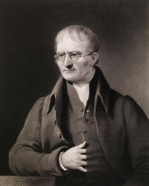Wall Art - Photograph - John Dalton by Royal Institution Of Great Britain / Science Photo Library