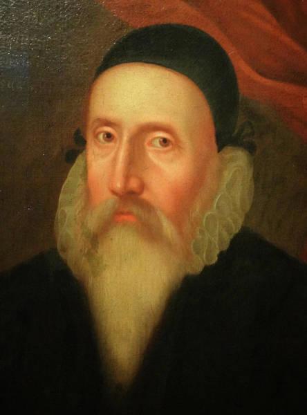 Elizabethan Wall Art - Photograph - John Dee by Universal History Archive/uig
