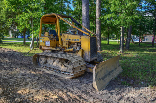 Photograph - John Deer Bulldozer by Dale Powell