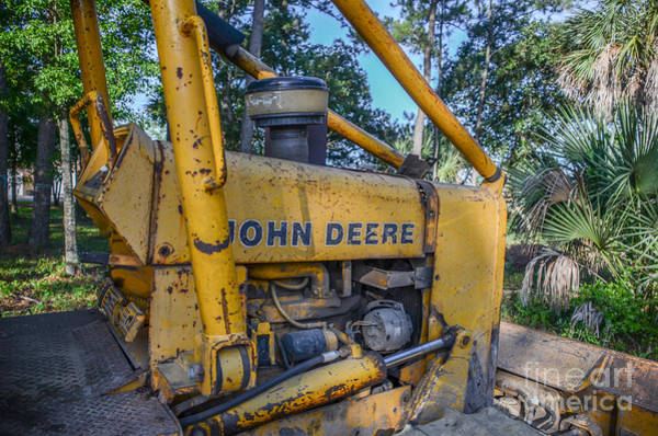 Photograph - John Deer Dozer by Dale Powell