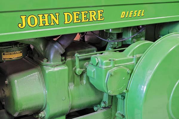 Photograph - John Deere Diesel by Susan Candelario