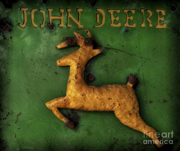 Wall Art - Photograph - John Deere Metal Fabrication by Roger Bailey