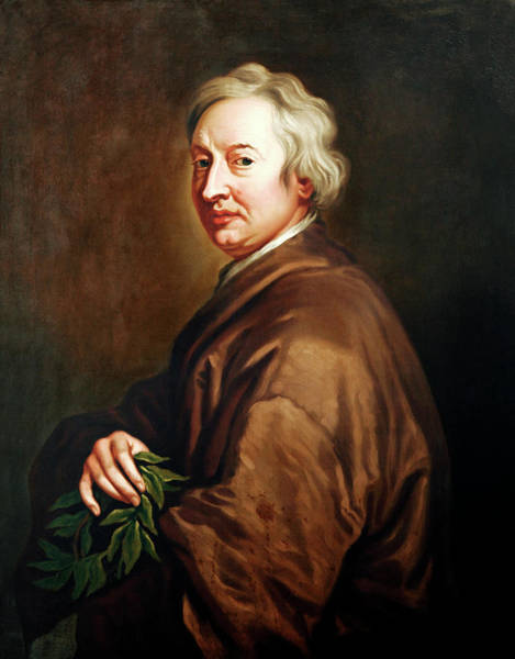John Dryden Art Print by Bodleian Museum/oxford University Images