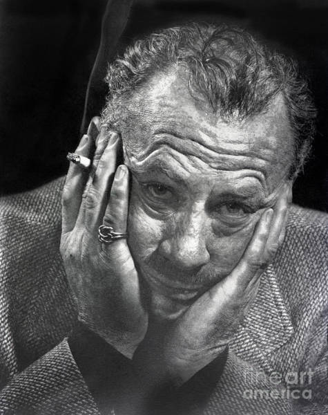 Photograph - John Ernst Steinbeck American Writer 1954 by California Views Archives Mr Pat Hathaway Archives