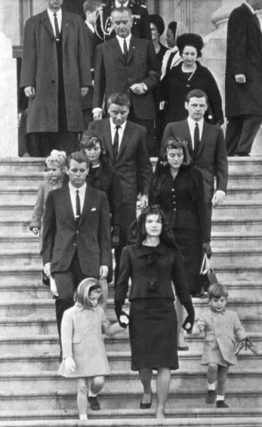 Wall Art - Photograph - John F. Kennedy Funeral by Underwood Archives