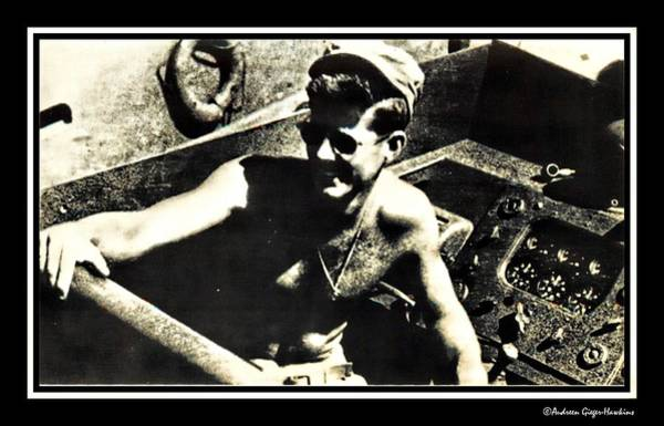 Pt-109 Photograph - John F Kennedy On Pt 109 by Audreen Gieger