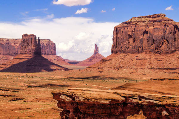 Northern Arizona Wall Art - Photograph - John Ford Point - Monument Valley - Arizona by Jon Berghoff