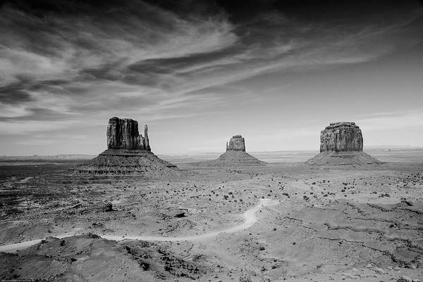 John Ford View Of Monument Valley Art Print