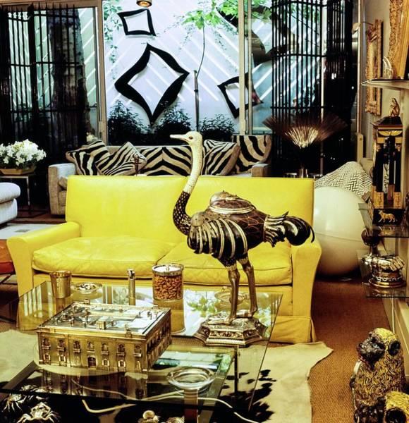 Wall Art - Photograph - John Galliher's Living Room by Horst P. Horst
