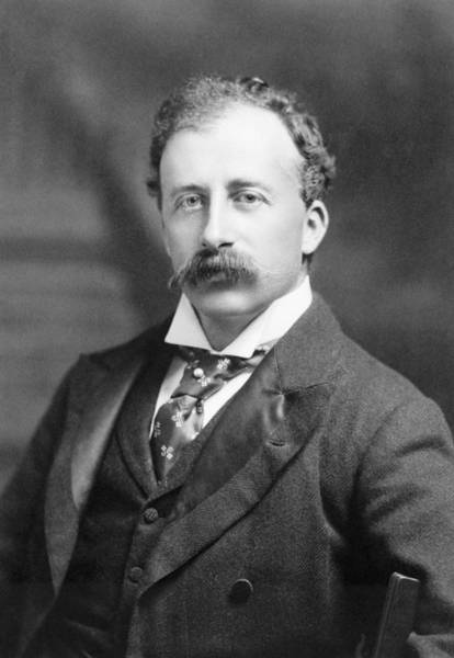 Wall Art - Photograph - John Guille Millais (1865-1931) by Granger