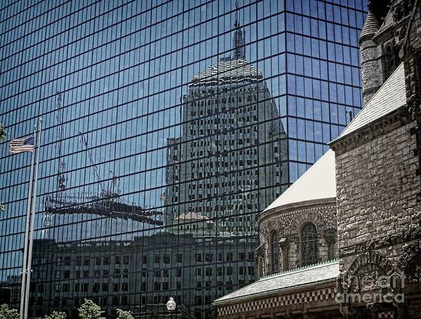 Photograph - John Hancock - A Century Of Self-reflection - Boston Architecture by Julia Springer