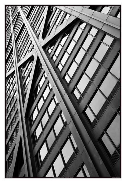 Bracing Photograph - John Hancock Center - 09.20.09_041 by Paul Hasara