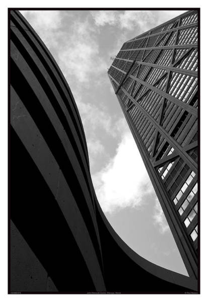 Bracing Photograph - John Hancock Center - 10.03.09_075 by Paul Hasara
