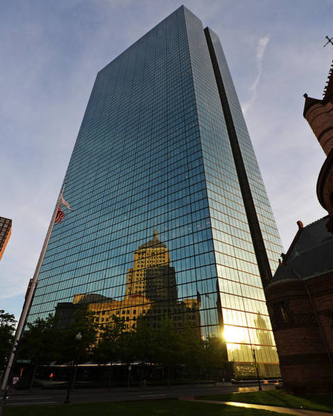 Photograph - John Hancock Tower by Toby McGuire