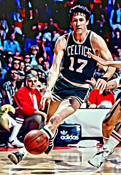 Wall Art - Painting - John Havlicek by Florian Rodarte