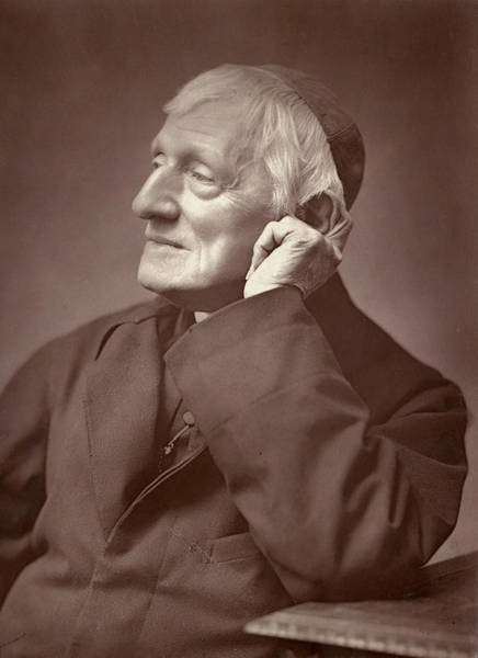 Wall Art - Photograph - John Henry Newman  Catholic Convert by Mary Evans Picture Library