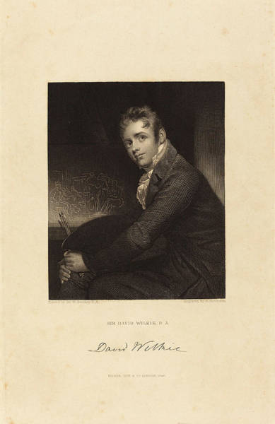 Stipple Drawing - John Henry Robinson After Sir William Beechey British by Quint Lox