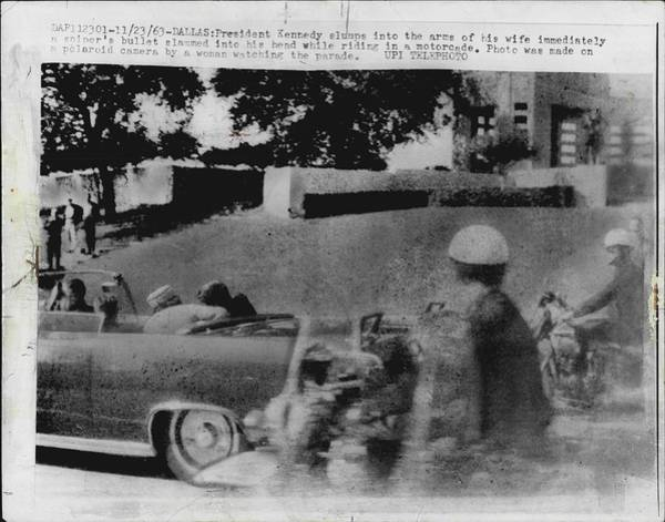 Wall Art - Photograph - John Kennedy Assasination by Retro Images Archive