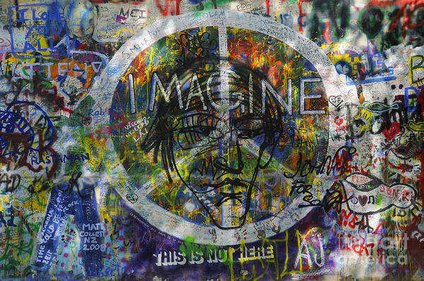 Photograph - John Lennon Wall by Brenda Kean