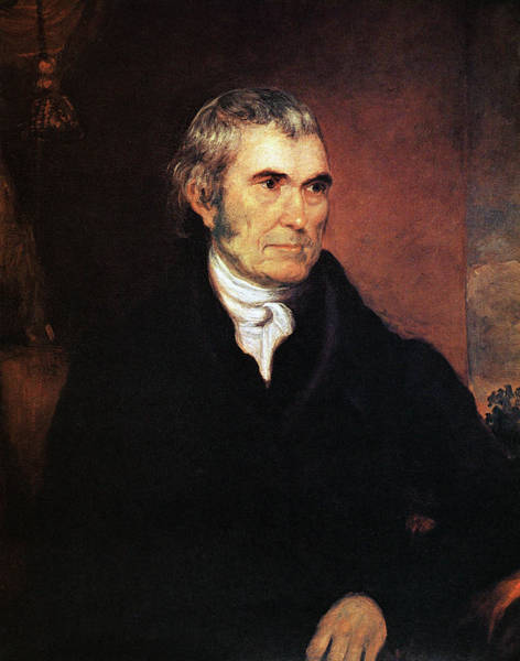 Wall Art - Painting - John Marshall (1755-1835) by Granger