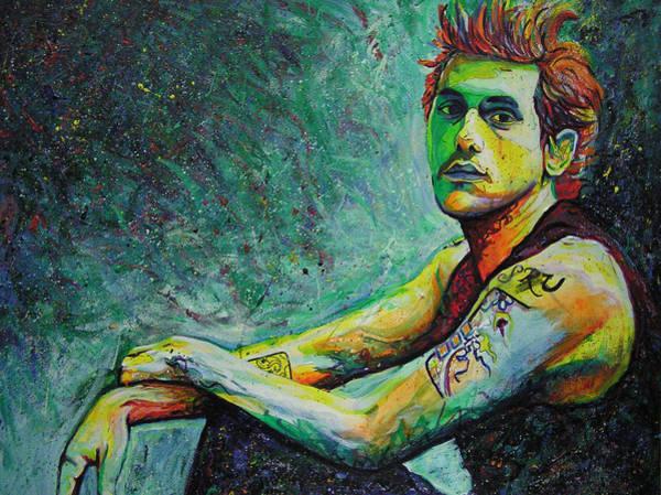 Wall Art - Painting - John Mayer by Joshua Morton