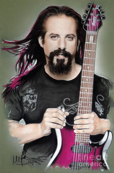 Hard Rock Mixed Media - John Petrucci by Melanie D