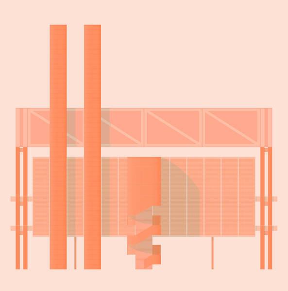 Wall Art - Digital Art - John Player Factory by Peter Cassidy