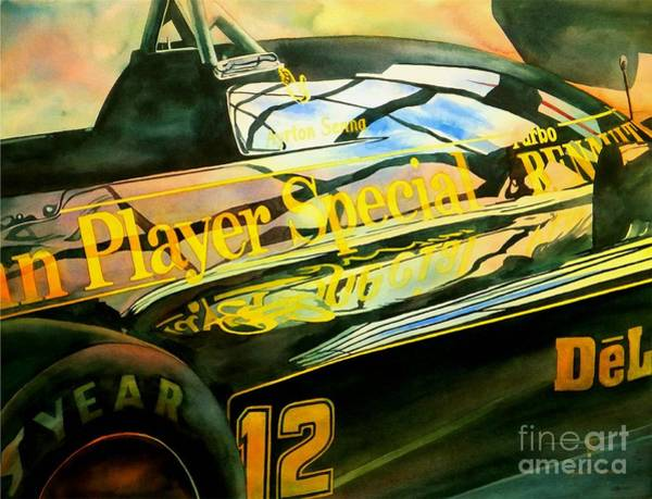 Wall Art - Painting - John Player Special by Robert Hooper