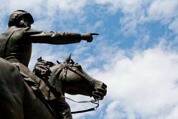 Photograph - John Reynolds - Gettysburg General by Kristia Adams