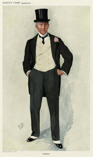 Wall Art - Drawing - John Stirling Ainsworth, 1st Baronet by Mary Evans Picture Library