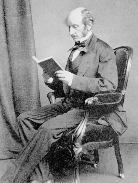 Stuart Photograph - John Stuart Mill by Science Photo Library