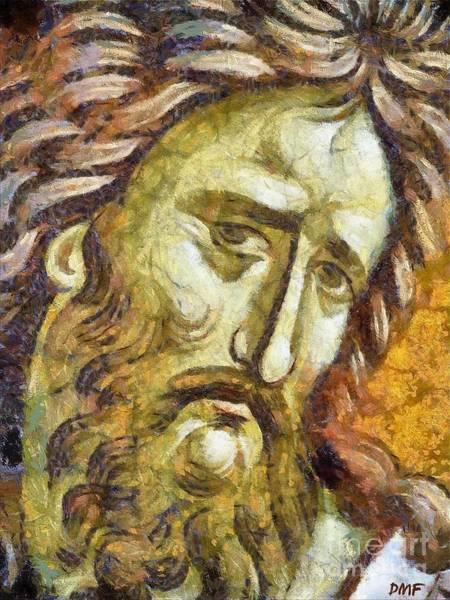 Ortodox Wall Art - Mixed Media - John The Baptist  by Dragica  Micki Fortuna