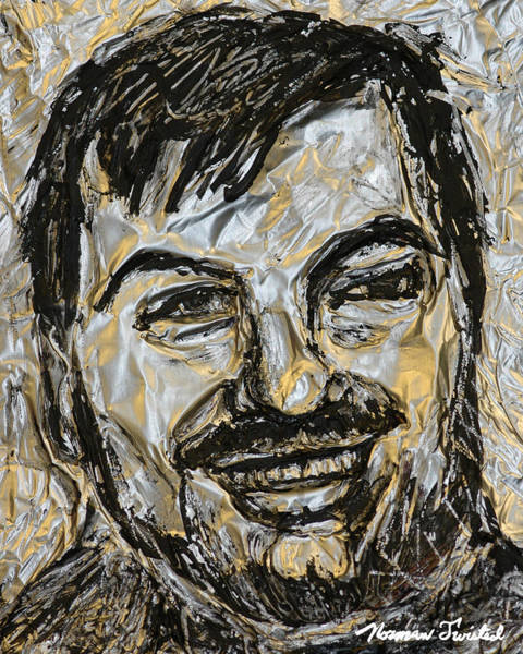 Serial Killer Painting - John W. Gacy Electric by Norman Twisted