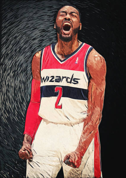 Digital Art - John Wall  by Zapista Zapista